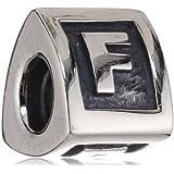 "Pandora Damen-Bead  Sterling-Silber 925 Buchstabenelement ""F"" KASI 79323-F"
