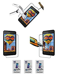 Acm Pack Of 3 Tempered Glass Screenguard For Intex Aqua 3g Mobile Screen Guard Scratch Protector