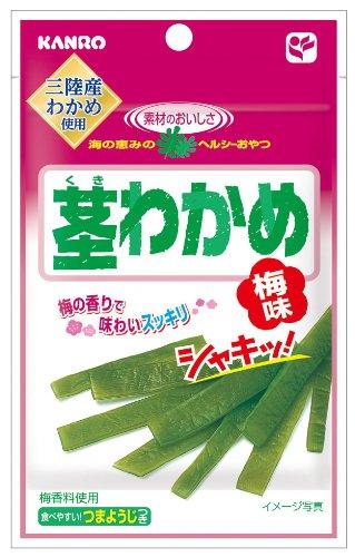 カンロ 茎わかめ 梅味 21g×6袋