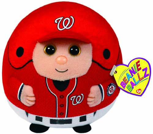 Ty Beanie Ballz MLB Washington Nationals Plush