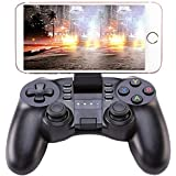 KINGAR Bluetooth Game Controller, PC Gamepad Joystick With Vibration Feedback for Android Phone/IOS/PC/PlayStation 3 (Tamaño: S10189)