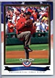 2011 Topps Opening Day Presidential First Pitches #PFP10 Barack Obama - President of the United States of America (Baseball Cards)