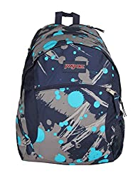 Jansport Unisex Blue Backpack - JTYG6ZE3-Blue-X