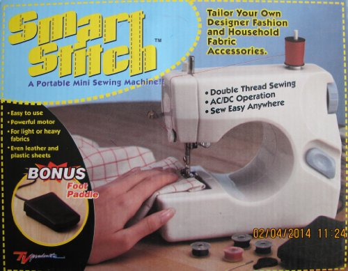Smart Stitch A Portable Mini Sewing Machine Reviews Best Sewing Adorable Dressmaker Mini Sewing Machine Instructions