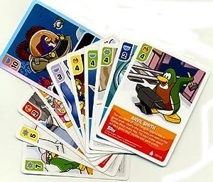 topps club penguin trading card game lot of 10 random single cards plus 1 bonus foil. Black Bedroom Furniture Sets. Home Design Ideas