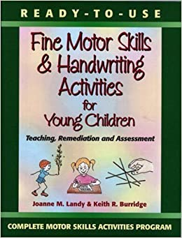 Ready to use fine motor skills and handwriting activities for Fine motor skills assessment checklist