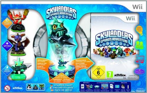 Skylanders-Spyros-Adventure-Starter-Pack-inkl-3-Figuren-Nintendo-Wii