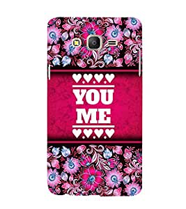 You Love Me 3D Hard Polycarbonate Designer Back Case Cover for Samsung Galaxy On5 Pro :: Samsung Galaxy ON 5 Pro
