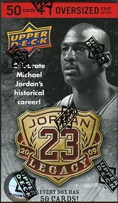 NBA 2009 Michael Jordan Legacy Set Trading Cards - 50 Individual Cards