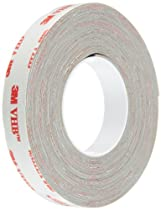 TapeCase 0.5 in Width x 5 yd Length, Converted from 3M VHB Tape RP32  (1 Roll)