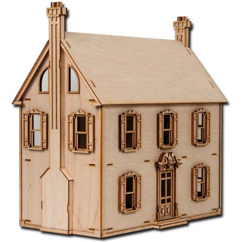 laser cut half scale willow dollhouse kit toyzonkerscom