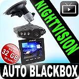"""Black-Box - Auto-Hochgeschwindigkeits-Rekorder/Unfalldatenschreiber/�berwachungs-Kamera Video/Audio+Nightvision, Bewegungssensor, 2,5 TFT LCD Monitor+4GB SD Kartevon """"Lexfield �"""""""