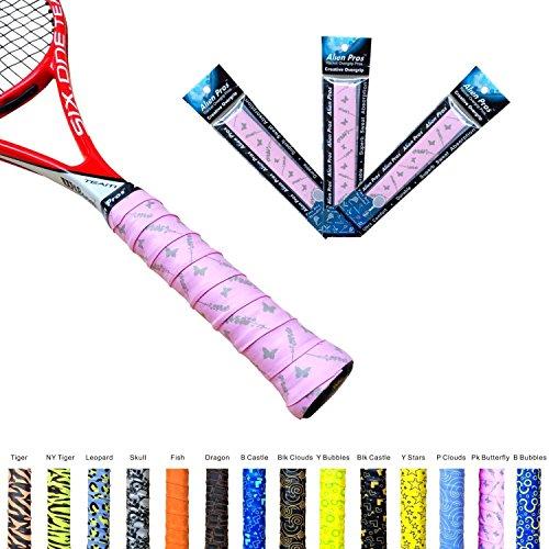 Alien Pros X-Tac Tennis Griffband perfekt für Ihren Tennisschläger , Racquetball Griff, Squash Racket und mehr. 3er-Pack