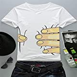 こんなとこでも 3D メンズ ユニーク デザイン Tシャツ シリーズ 1枚 の インパクト  絶大