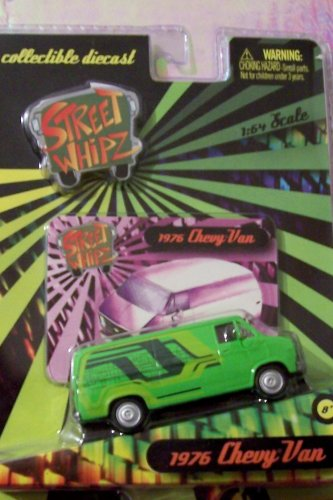 Planet Toys Street Whipz 1:64 Scale 1976 Chevy Van - 1