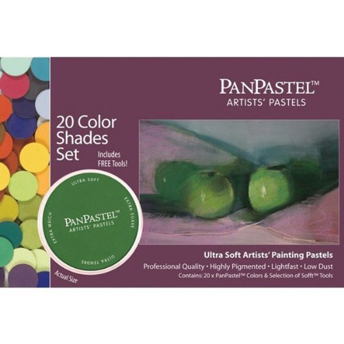 Panpastel Ultra Soft Artist Pastel Shades Set