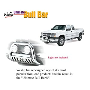 Ultimate Bull Bar For Ford ~ Excursion ~ 2005-2005 ~ Black ~