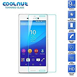 COOLNUT Sony Xperia M4 Aqua Tempered Glass Screen Protector