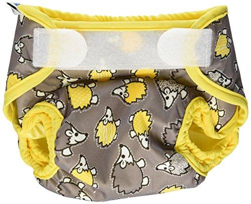 Best Bottom Cloth Diaper Shell-Hook And Loop, Hedgehog