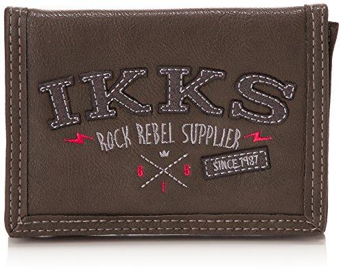 IKKS Portamonete, Gris (Rouge/Noir) (Grigio) - I4RRE-PFE-RN