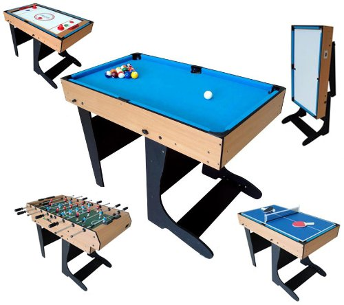 Baby foot multijeux sportifull for Table jeu exterieur