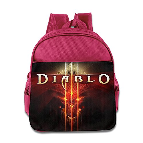 [ARPG Diablo 3 Fathom Studios Backpack / Kids' School Backpack] (Diablo Reaper Of Souls Costume)