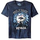 The Mountain Boys' Big Boys' University of Nevada, Reno Wolf Pack Bball Bt Youth T-Shirt, Blue, Medium