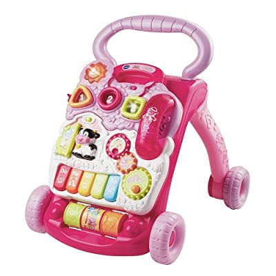VTech Sit-to-Stand Learning Walker - Pink from by VTech Walker
