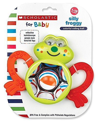 Scholastic Rattle, Silly Froggy