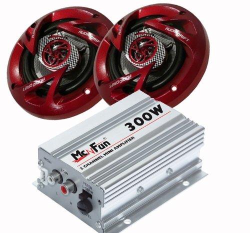 300W Auto Musikanlage Verstärker Boxen CAR-154