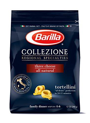 Barilla Collezione Pasta, Three Cheese Tortellini, 12 Ounce (Pack of 4) (Sauce Pipette compare prices)