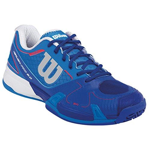 Wilson Rush Pro 2.0, Scarpe da tennis donna Multicolore Azul / Blanco 41
