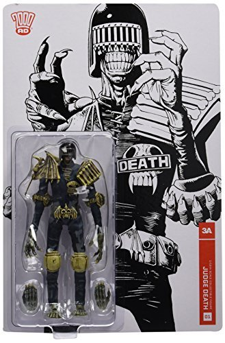 2000 AD Judge Death 1:12 Scale Action Figure by threeA