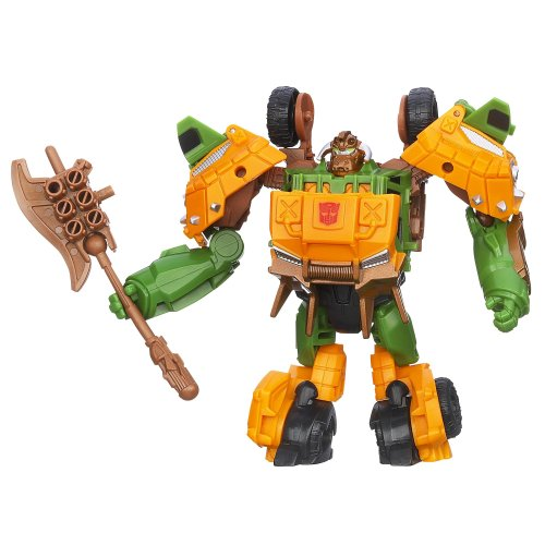 Transformers Prime Beast Hunters Commander Class Bulkhead Heavy Munitions Figure - 1