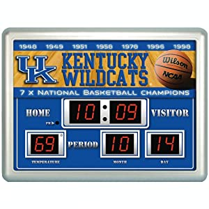 Buy Team Sports America Collegiate Scoreboard Clock by Team Sports America