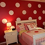 Pop Decors Wall Decals Sticker For Nursery Room Decoration, Polka Dots