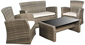 Mission Hills 26763-CW Redondo 4-Piece Seating Set from Mission Hills Furniture