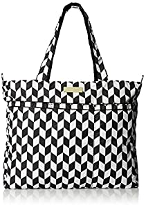Ju-Ju-Be Super Zippered Tote Diaper Bag, The Marquees by Ju Ju Be