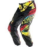 O'Neal Element Limited Edition Acid Pants (Yellow/Red, Size 12/14)