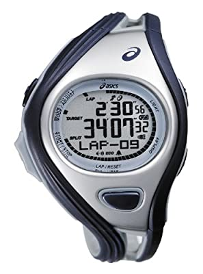 Asics Unisex Challenge CQAR0302 Blue Polyurethane Quartz Watch with Digital Dial by Asics