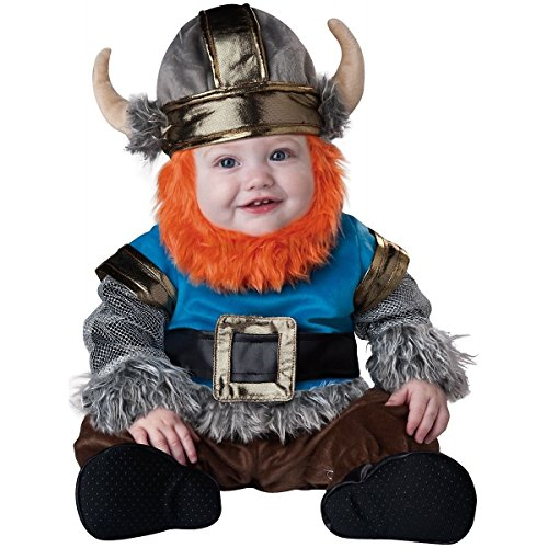 [GSG Viking Costume Baby Halloween Fancy Dress] (Toddler Lil Ninja Costumes)