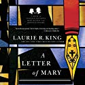 A Letter of Mary: A Novel of Suspense Featuring Mary Russell and Sherlock Holmes: The Mary Russell Series, Book 3 Audiobook by Laurie R. King Narrated by Jenny Sterlin