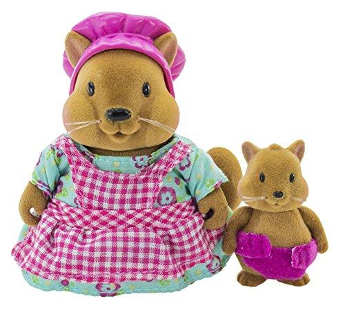 Li'l Woodzeez Maggie & Honeybun Bushytail