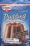 Dr. Oetker Original Pudding Mix, Chocolate, 1.75-Ounces, 3-Count Pouches (Pack of 10)