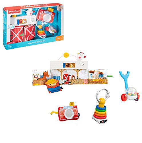 Fisher-Price - RETRO MODERN Gift Set - Inspired by the Classics You Loved as a Child.