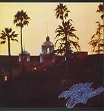 HOTEL CALIFORNIA LP UK ASYLUM 1976 9 TRACK GATEFOLD WITH INNER AND POSTER BUT INNER HAS SPLIT SEAM (K53051)