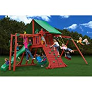 Gorilla Playsets Sun Valley II with Monkey Bars Playground System