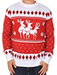 Ugly Christmas Sweater - Men's Reinde...