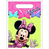 Disney Minnie Mouse Bow-tique Treat Bags Party Accessory