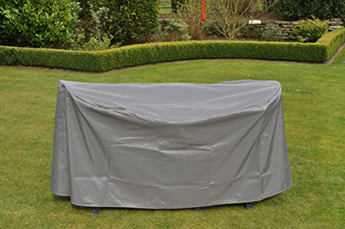 Wetterschutzhülle für Gartenmöbel Abdeckung Sitzgruppen Möbelschutzhülle schwere Ausführung oval